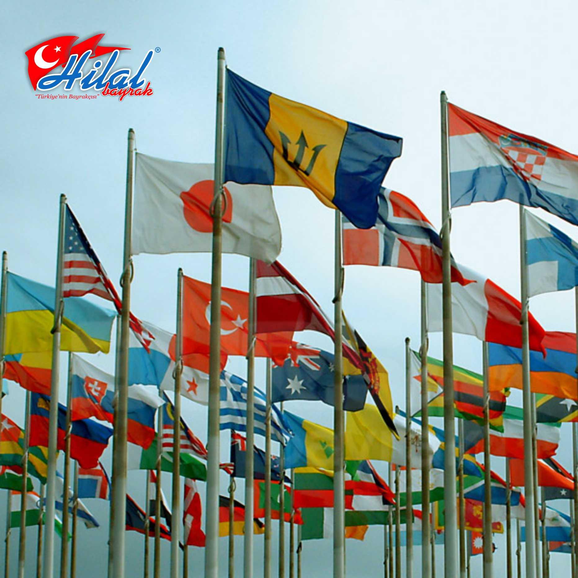 Yabancı ülke, bayrakları, Yabancı bayraklar, ulusal bayraklar, Kağıt bayrak, bayraklar,el bayrakları,Türk bayrağı ümraniye